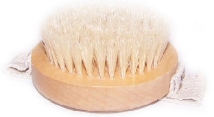 brosse gommage corps